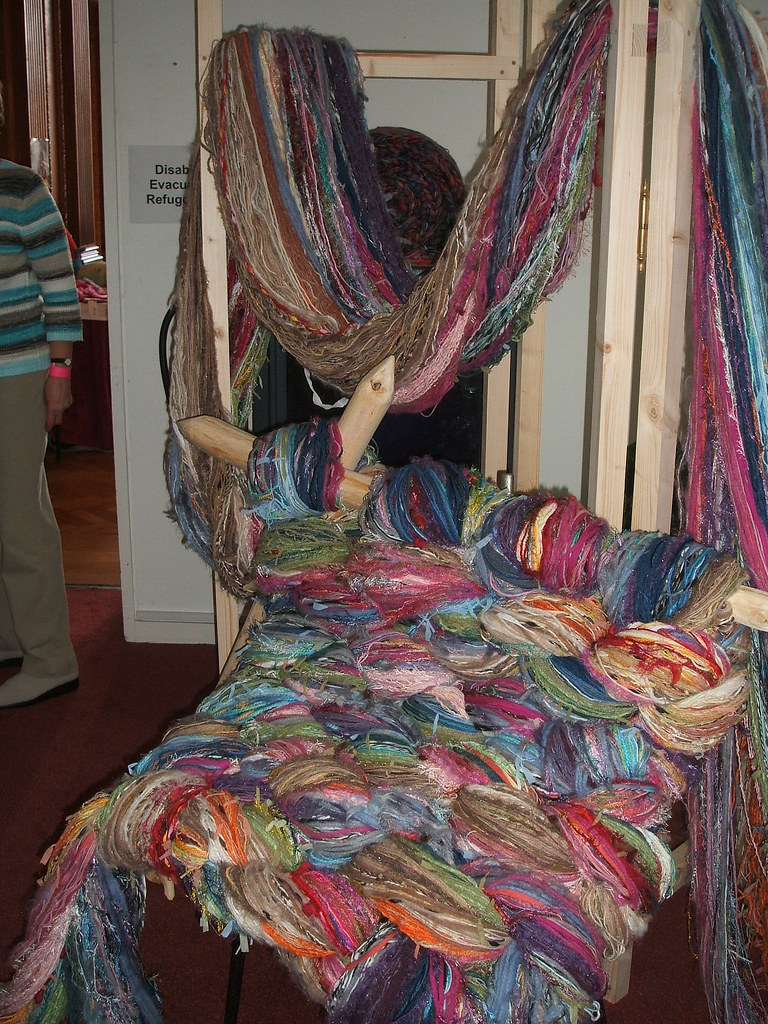 Rachel John's amazing 1000 spools of yarn
