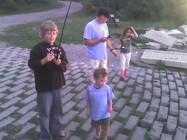 Everyone is fishing!
