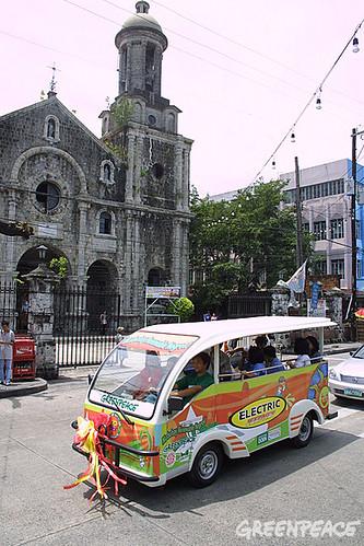 Electronic Jeepney!