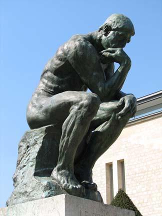 Ο σκεπτόμενος άνθρωπος - Ροντέν (Penseur - Rodin)