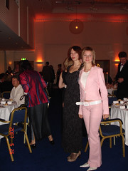 Julia Shilo and Olga Pogoryelova at the Gala Dinner