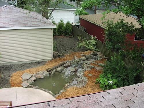 Pond - August 2005