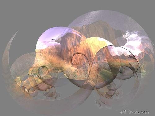 Dreamscape Fractal, by M. Fraser