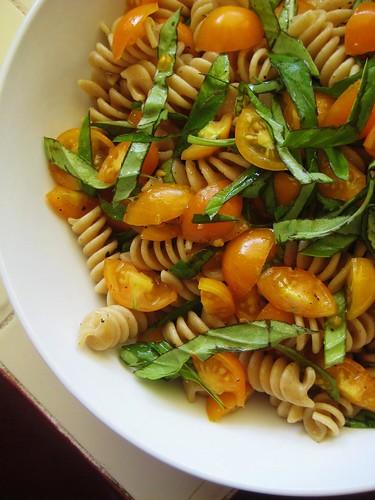 fresh tomatoes & pasta, pt.4