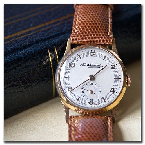 Thomas Russell Gold Watch