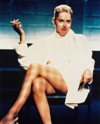 Sharon Stone in Basic Instinct