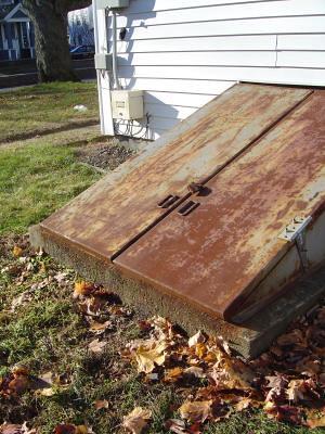 Rusty bulkhead