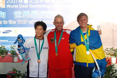 2007聽障游泳錦標賽-男�組400公尺自由式