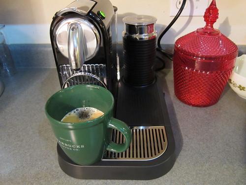 Taylor's Nespresso Machine