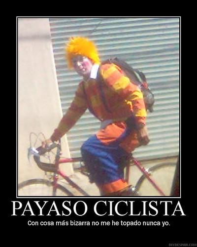 Payaso Ciclista