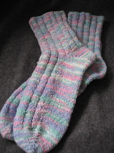 pastel socks