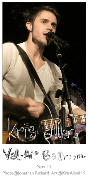 Kris Allen Twitter background