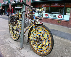 The bicycle from the right