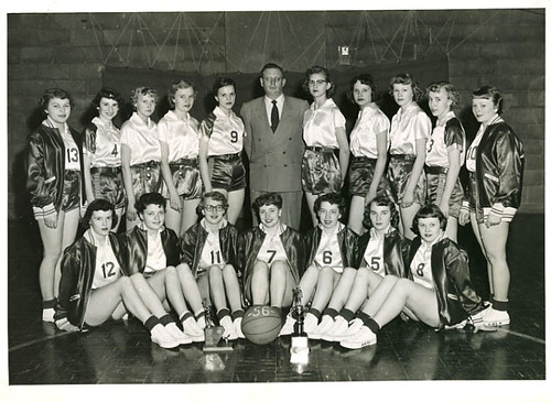 women's basketball 1956