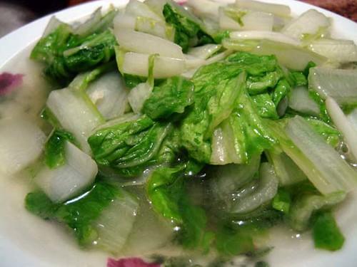 vegetables / 小白菜