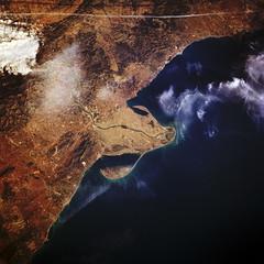 El Delta a ulls d'un satèl·lit
