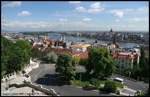 Budapest - view from Buda