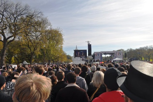 Rally for Sanity Oct 2010 Crowd3