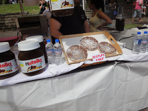 Norton Street Italian Festa: Nutella pizzas with roasted hazelnuts