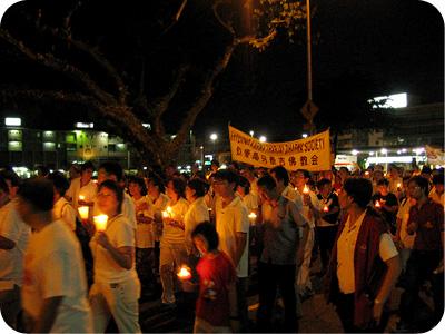 Wesak Day procession