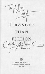 FLICKR: Stranger Than Fiction, autographed