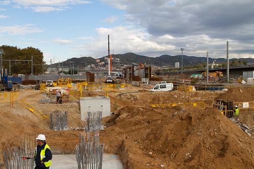 Estació de Sant Andreu - 15-11-10