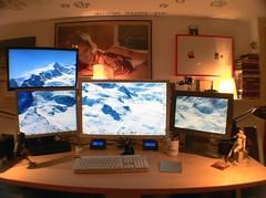 the Mac Pro setup