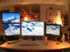 the Mac Pro setup