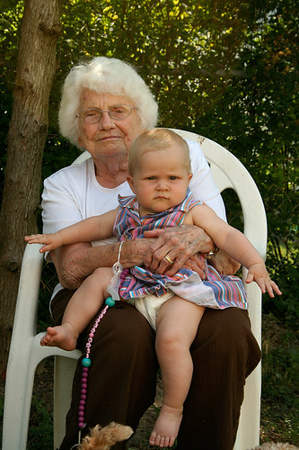 Poppy and Nanny