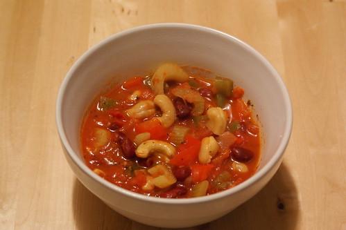 vegan cashew chili