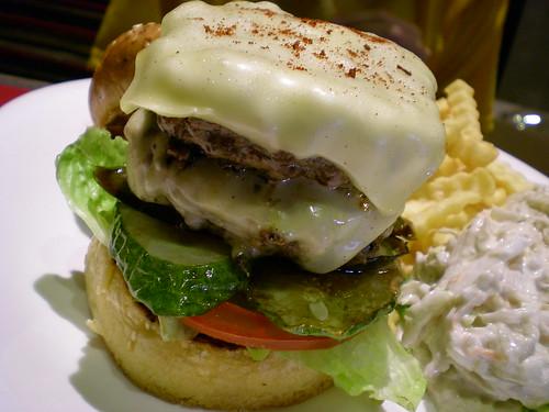 Secret Garden - double cheese burger 2