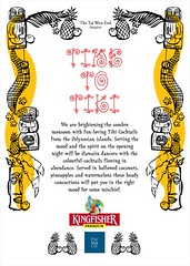 KINGFISHER presents Polynesian Tiki Nights