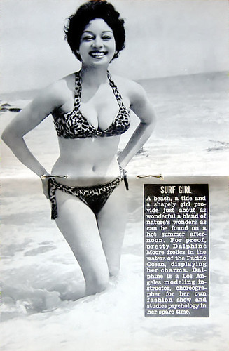 Surf Girl - Jet Magazine July 1, 1954 by vieilles_annonces.