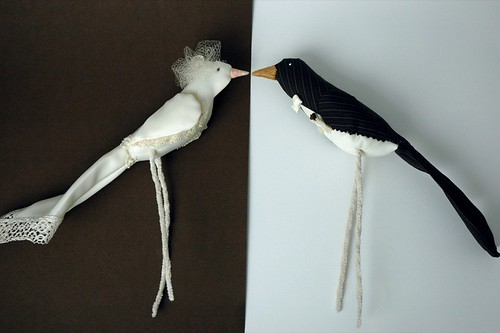 bird cake topper profile