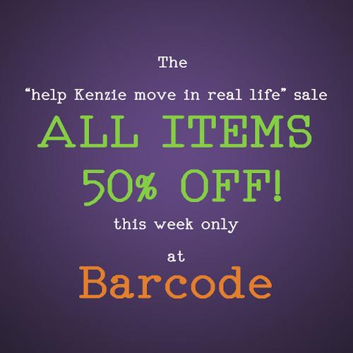 Half Off Sale \o/