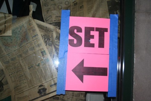 Directions to the Set