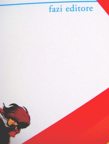 """sciltian gastaldi, tutta colpa di miguel bosé, fazi 2010; [resp. grafica non indicata]; """"in copertina: elaborazione grafica di Francesco Sanesi"""", cop. (part.), 2"""