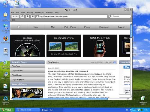 Web de Apple.