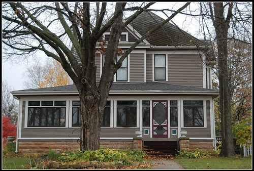 Tib's Chocolate-Colored House