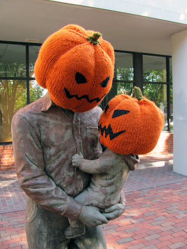 Halloween Pumpkin Heads