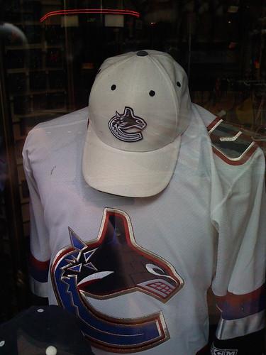 New Canucks Logo hat?
