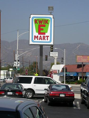 Burbank's temporary Kwik-E-Mart