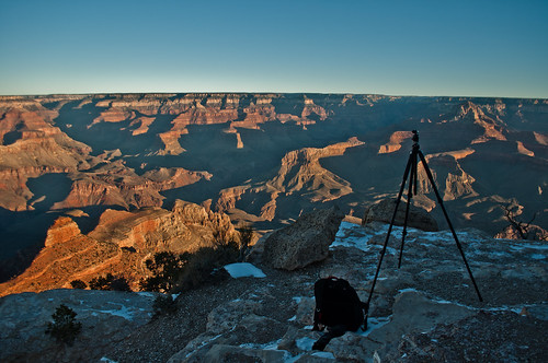 Catching the Sunrise at East part of the South Rim