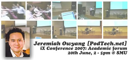 iX Conference Academic Forum (Part 1)