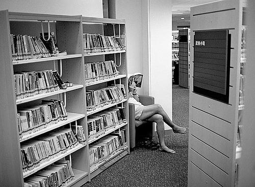 Büchereimädchen