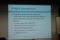 "Project Feasibility & ""Finance-ability"""