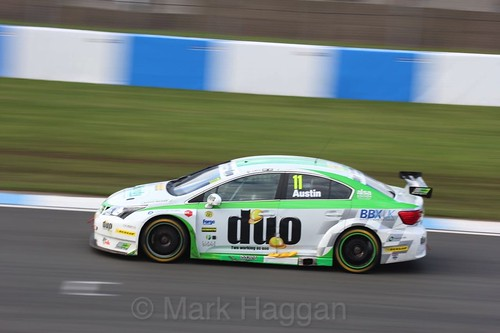 Rob Austin during the BTCC Donington Weekend: 17th April 2016