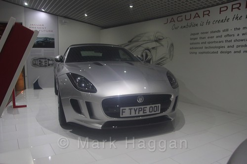 An F-Type Jaguar Coventry Transport Museum