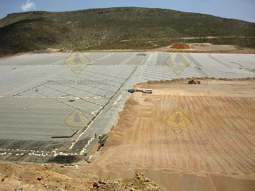Patio de Lixiviacion San Luis Potosi