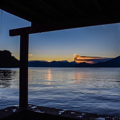 Day 265. Last shot from Lake Atitlan I swear - just love this photo. And today, I'm finally feeling back up to the challenge, took some antibiotics last night and they seemed to have wiped out whatever was going on in my stomach. Looking forward to a full